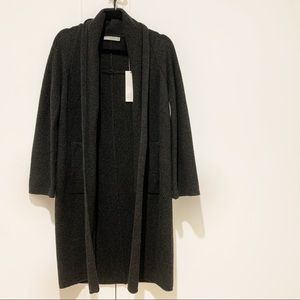 Vince Open Front Wool + Cashmere Cardigan